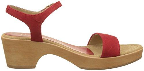 Unisa irita_18_KS, Sandales Femme Rouge (Red)