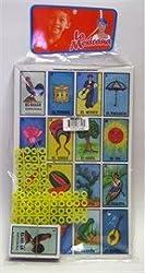 La Mexicana Loteria Mexicana 10 Tablas Mexican Bingo Game, 10 Playing Cards