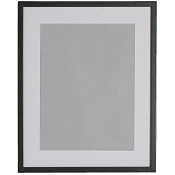 ribba frame black size 40x50 cm the mount enhances the