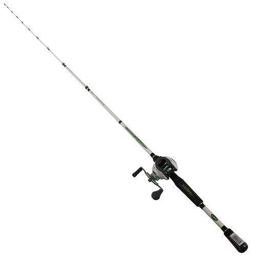LEW\'S Fishing Mach 1 Speed Spule SLP Combo, Linkshänder, Baitcast Combo, Baitcast-Rolle, Angelrolle und Angelrute, Angelausrüstung und Ausrüstung, Angelzubehör (MH1SHLA610MH)