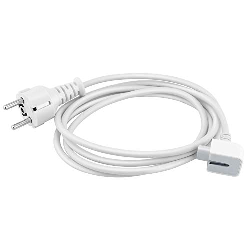 Câble d'extension de Chargeur MacBook de 1,8m Compatible avec Chargeur MacBook pour MagSafe, iBook, iPhone, All MacBook Chargeur
