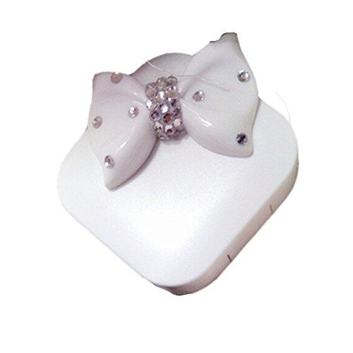 blanc-avec-boite-a-lentilles-de-contact-speciale-etui-support-de-rangement