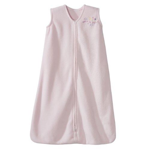 HALO SleepSack Micro-Fleece Wearable Blanket, Soft Pink, X-Large by Halo