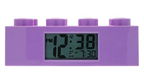 LEGO Despertador Infantil Piezas púrpura Friends