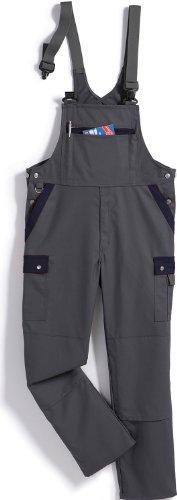 BP Workwear Arbeits-Latzhose CottonPlus - anthrazit/marine - Größe: 52