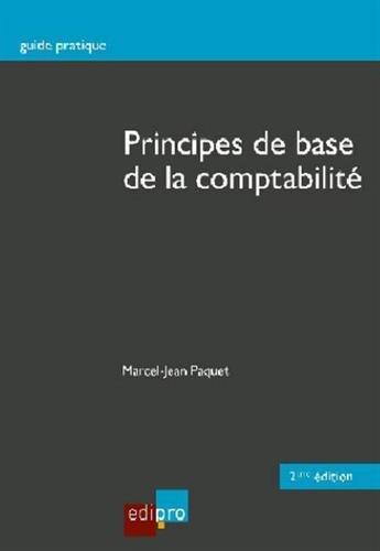 Principes de base de la comptabilité