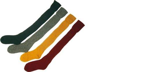 Bisley Mustard Yellow Plain Breek Stockings - Size 8 to 9.5
