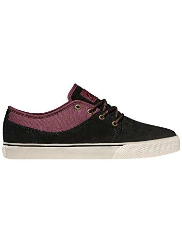 Globe Mahalo, Chaussures de skateboard homme black/port/noir