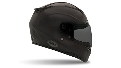 Bell Powersports Helme RS-1, Matte Schwarz Solid, L (Helm Bell Carbon)