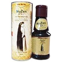 Nuzen Gold Herbal Hair Oil - 100% Pure Herbal Hair Oil , Grows New, Dense, Dark & Strong Hair, Prevents Dandruff,100% Ayurvedic and can be used both by Men & Women - 100ml (pack of 2)