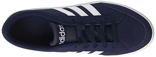adidas Vs Set, Scarpe da Ginnastica Basse Uomo Blu (Collegiate Navy/footwear White/footwear White)