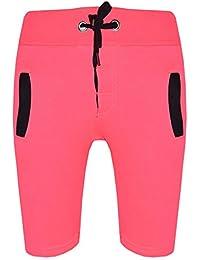 cd11f967a A2Z 4 Kids® Kids Shorts Girls Boys Fleece Chino Shorts Casual Knee Length  Half Pant