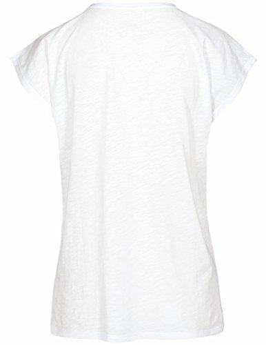 Basefield Damen T-Shirt mit Spitze - Jeansblue (229005299) 105 WHITE