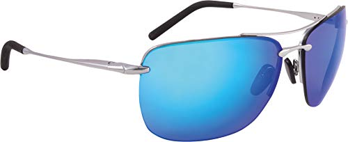 ALPINA Erwachsene Cluu Sonnenbrille Silver One Size