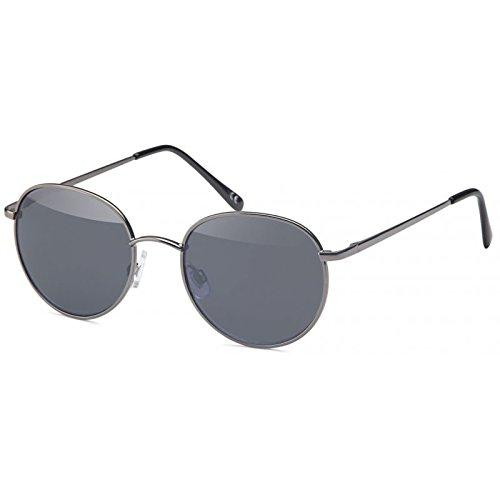 Gafas de sol unisex gafas redondas gafas de hippie hoja John Lennon 40