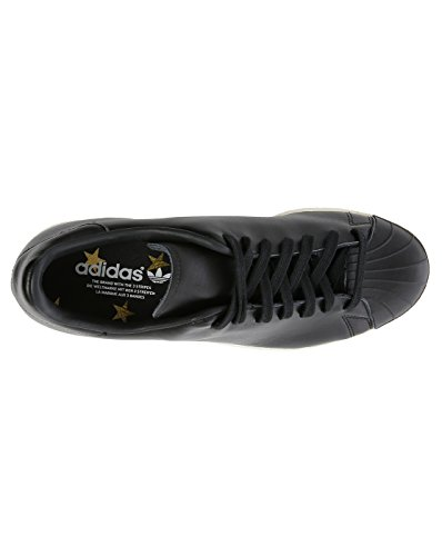 Adidas - Herren- Superstar 80's Leather Clean schwarz Mono für herren Schwarz