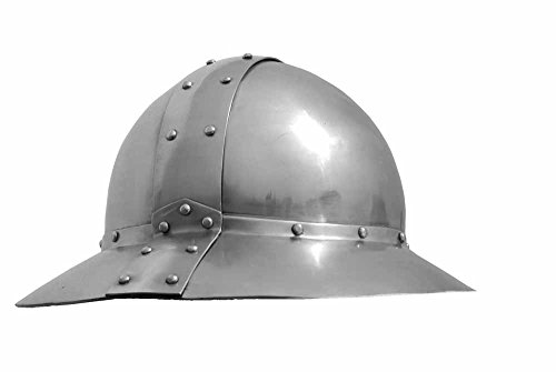 Eisenhut-XIII Jahrhundert, Mittelalterlicher Eisenhut,Kopfschoner, Mittelalter Eisenhut, Mittelalter Helme, Helm für Reenactment und LARP -