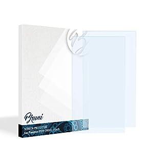 Bruni Schutzfolie für Pumpkin PD01-09001L 9 Inch Folie, glasklare Displayschutzfolie (2X)