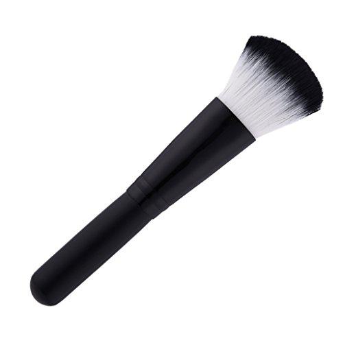 MagiDeal Pinceau Cosmétique à Poudre Bronzante Anti-cernes Contour Fond de Teint Liquide Crème pour Visage Maquillage