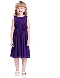 2dfd2831b Amazon.co.uk  Purple - Dresses   Girls  Clothing