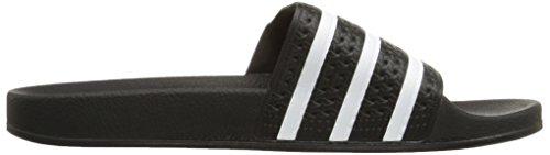 adidas Adilette, Baskets Basses Homme Black/White/Black