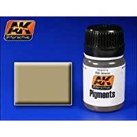 Ak Interactive Ak00041 Pigments - North Africa Dust Black Model Making Pigment by Ak Interactive