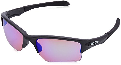 48b0847302 Oakley Quarter Jacket, Gafas de Sol para Hombre, Steel, 61