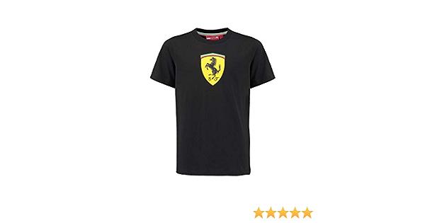 Scuderia Ferrari F1 Kinder Classic T Shirt Schwarz Bekleidung