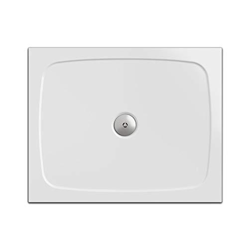 duschwanne flach 80 x 80 Duschwanne/Duschtasse Nordona SIMPLEX, rechteckig 80 x 100 cm | Flache Aufbau-Höhe: 3 cm | Kompatibel mit Nordona VersoFlat Ablauf