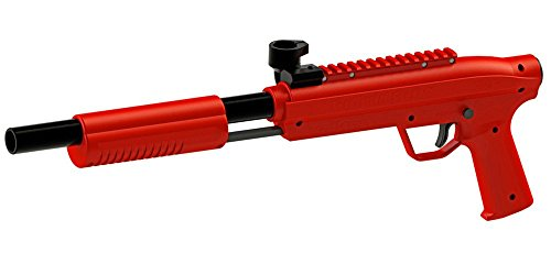 Valken Kinder Kids Markierer Gotcha Gun/Shotgun Cal. 50 (0.5 J) -red Paintball, rot, M