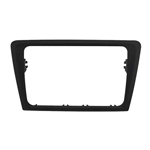 TOOGOO 2Din Auto Radio Panel Blende für Skoda Rapid 2013 Stereo Blende Frame Panel Dash Mount Kit Adapter Trim Blende Blende -