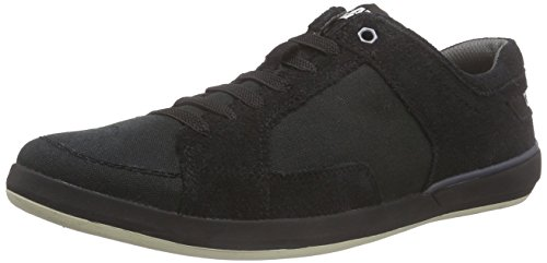 caterpillar-attent-canvas-herren-sneakers-schwarz-mens-black-44-eu-10-herren-uk