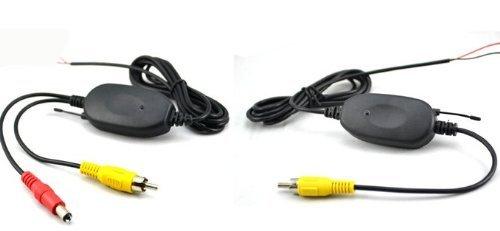 BW 2,4 gHz Cinch Funksender & Empfänger für Auto Rear Rückfahrkamera und Monitore