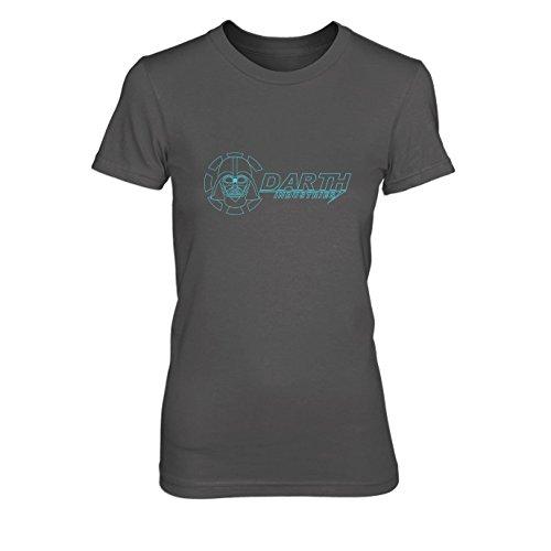 Darth Industries - Damen T-Shirt, Größe: L, Farbe: grau