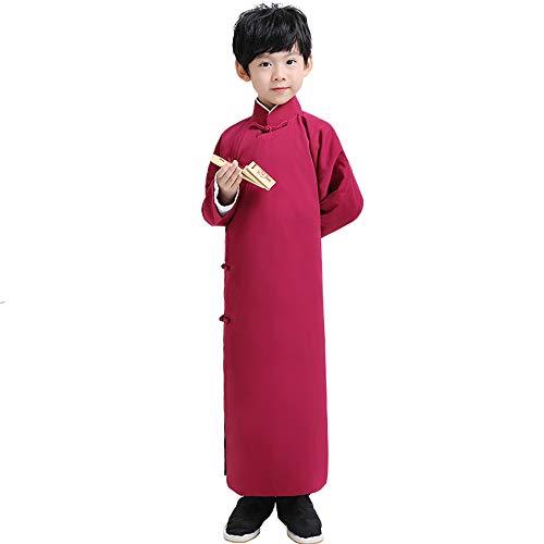 Chenyang86 National Service - Xiangsheng Service Allegro Kostüm Bekleidung (Farbe : Rotwein, größe : 175cm)