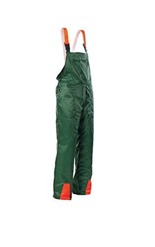 These are available in many sizes and designed to offer class 1 and Type A chainsaw protection. Convenient front pockets provide storage for small essentials, whilst warning suspenders will allow others to see you. The price point is very favourable and many will appreciate the coverage from chest to toe. The sizing is misleading especially because the size chart isn't in UK format. Overall, the SWS Garden and Country KWF certified cut resistant dungarees are ideal for forest works and will also provide good cover from flying debris