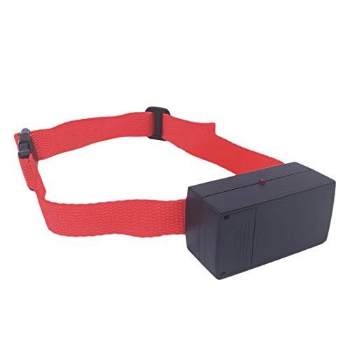 QIHANG Hunde trainingshalsband für Kleine und mittelgroße Hunde mit Vibration. Kontrolle von übermäßigem Bellen mit diesem einfachen Antibell Halsband. Sicher und Human ohne Schock