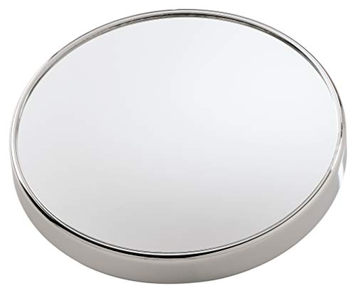 Gedy CO202113100 Espejo de aumento, Cromado, 3x20x20