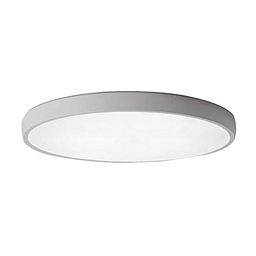 led ceiling light simple modern ultra-thin corridor aisle living room round balcony dining room 36W 50cm non-polar light band remote control