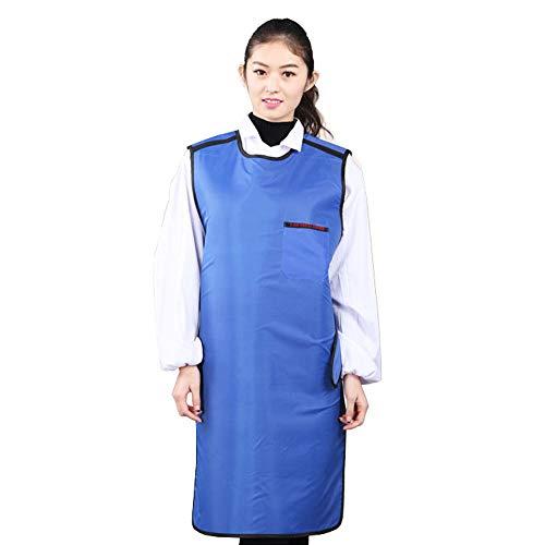 MXBAOHENG Blei Kleidung Strahlung Anzug echtem CT X-Ray Schutzkleidung mit Hut und Halsband, S (Strahlung Schutzkleidung)