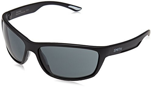 Smith Unisex-Erwachsene Journey Ir 003 63 Sonnenbrille, Schwarz (Matt Black/Grey),