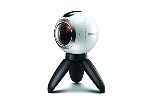 Samsung Gear 360 Real 360° High Resolution VR Camera (US Version)  available at amazon for Rs.29999