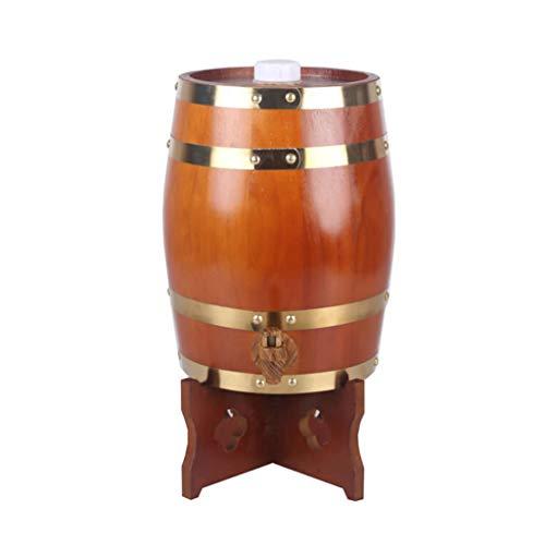 WYDM Aluminiumfolienauskleidung Eichenfass, Mehrzweckspender, Bier/Wein-Lagertank 5L, 10L, 20L (Kapazität : 10L, Farbe : E) Green Lazy Susan