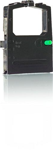 KMP PrintTechnik - Nastro a inchiostro compatibile con scanner a superficie piana ML 390, in nylon HD, nero