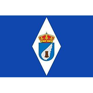 DIPLOMAT Flagge Albalate de Cinca | Albalate de Cinca-Huesca-Spain | Albalate de Cinca-Huesca Su paño será rectangular | Querformat Fahne | 0.06m² | 20x30cm für Flags Autofa