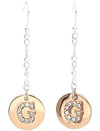 Rosegold aus Edelstahl UBE11450 GUESS Damen Ohrringe Ohrhänger
