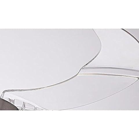 FGSGZ-Ventilador-De-Techo-Luz-Householdled-Telescpico-Araa-Ventilador-36Pulgadas-Blanco-Control-RemotoDimetro-92Cm