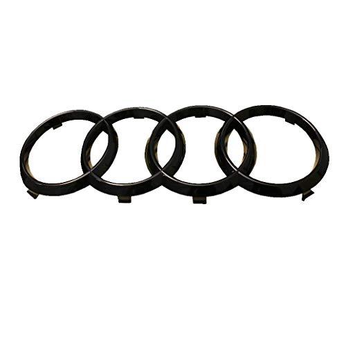 "Original Audi Emblem\""Ringe\"" schwarz glänzend"