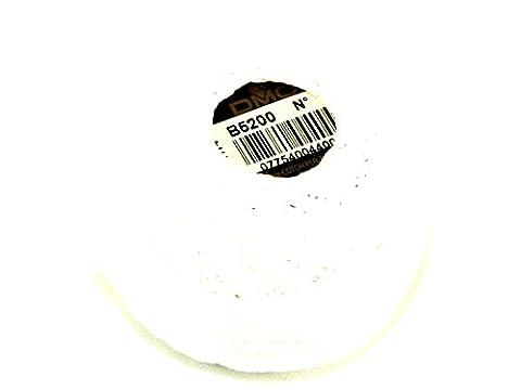 DMC fil coton perle taille 8b5200–par 10g Boule + sans Minerva Crafts Craft Guide