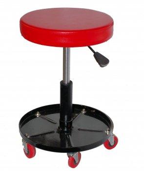 Preisvergleich Produktbild Werkstatthocker Montagehocker Werkstattsitz stufenlos höhenverstellbar Werkstattstuhl Arbeitshocker